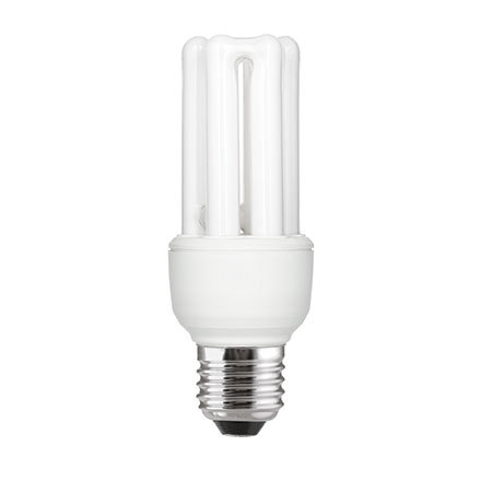 GE 11W T3 Hex E27 Compact Floures Tube Daylight 560lm Ref71125 A Rating *Up to 10 Day Leadtime*