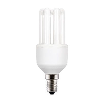 GE 9W T3 Hex E27 Compact Floures Tube Daylight 450lm Ref71300 A Rating *Up to 10 Day Leadtime*