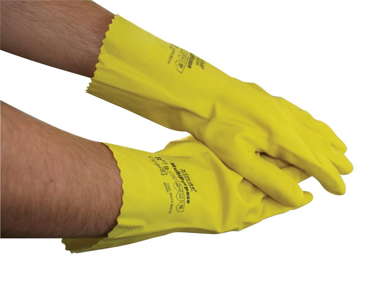 Rubber Gloves Medium Yellow [Pair]