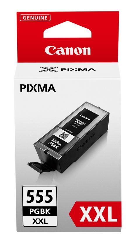 Canon PGI-555PGBKXXL Extra High Yield Ink Cartridge Black Page Life 1000pp Ref 8049B001