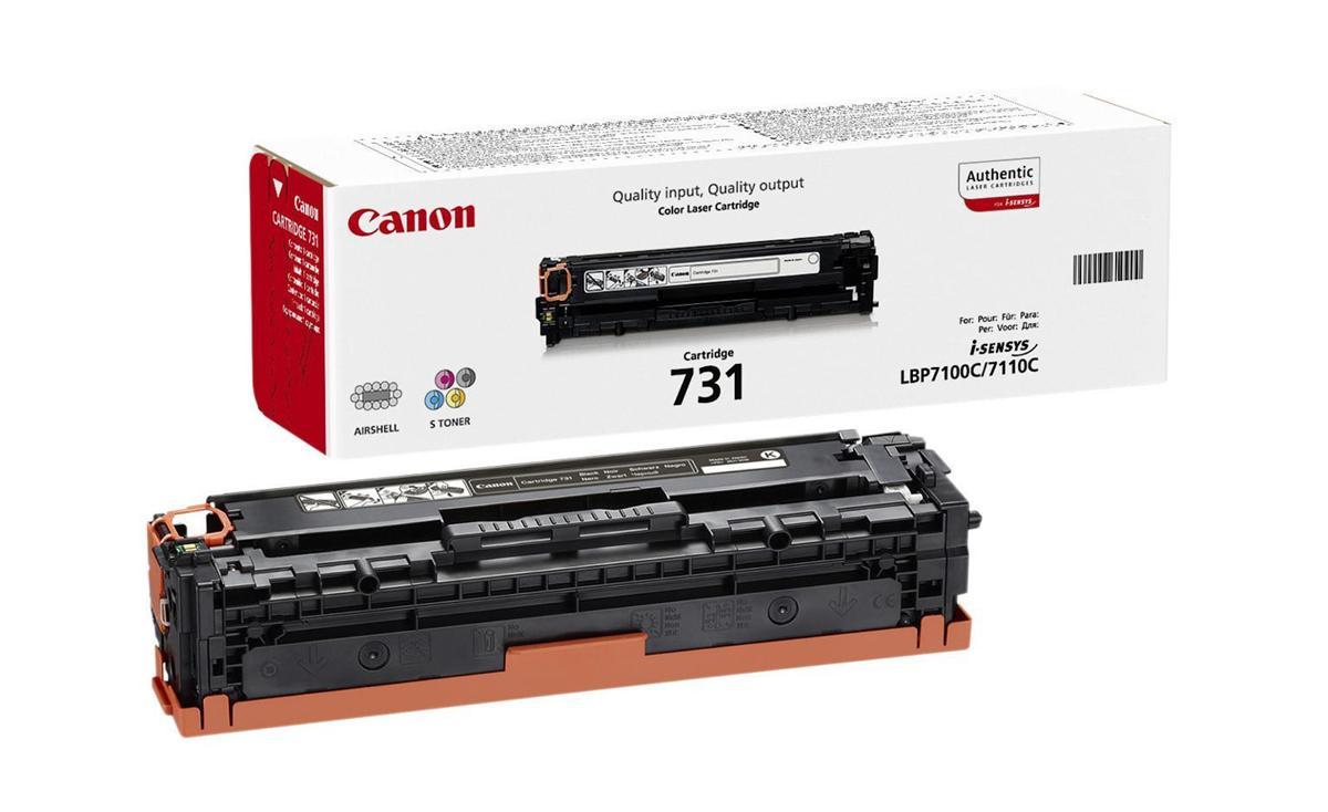 Canon 731 Laser Toner Cartridge Page Life 1500pp Magenta Ref CANON731M