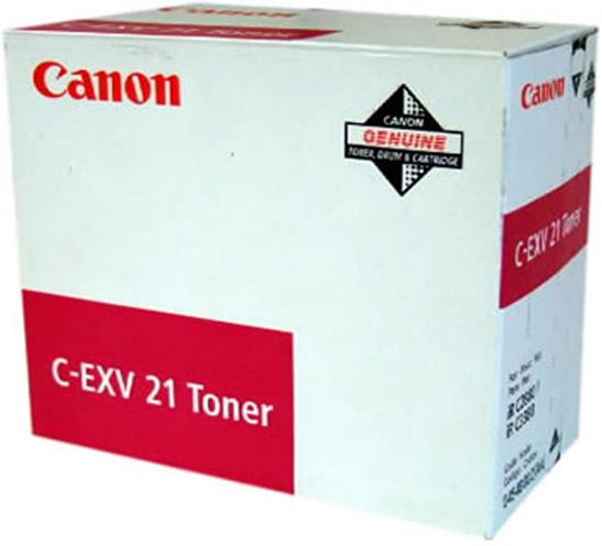 Canon CEXV21 Laser Toner Cartridge Page Life 14000pp Magenta Ref CANONCEXV21
