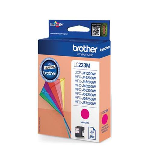 Brother Inkjet Cartridge 5.9ml Page Life 550pp Magenta Ref LC223M