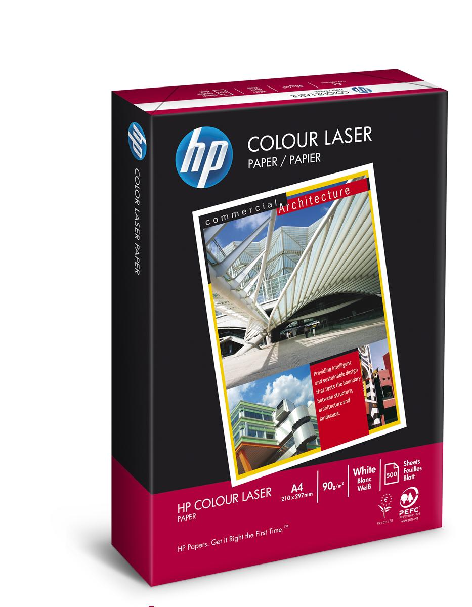 Hewlett Packard [HP] Colour Laser Paper Smooth 200gsm A4 White Ref HCL0349 [250 Sheets]