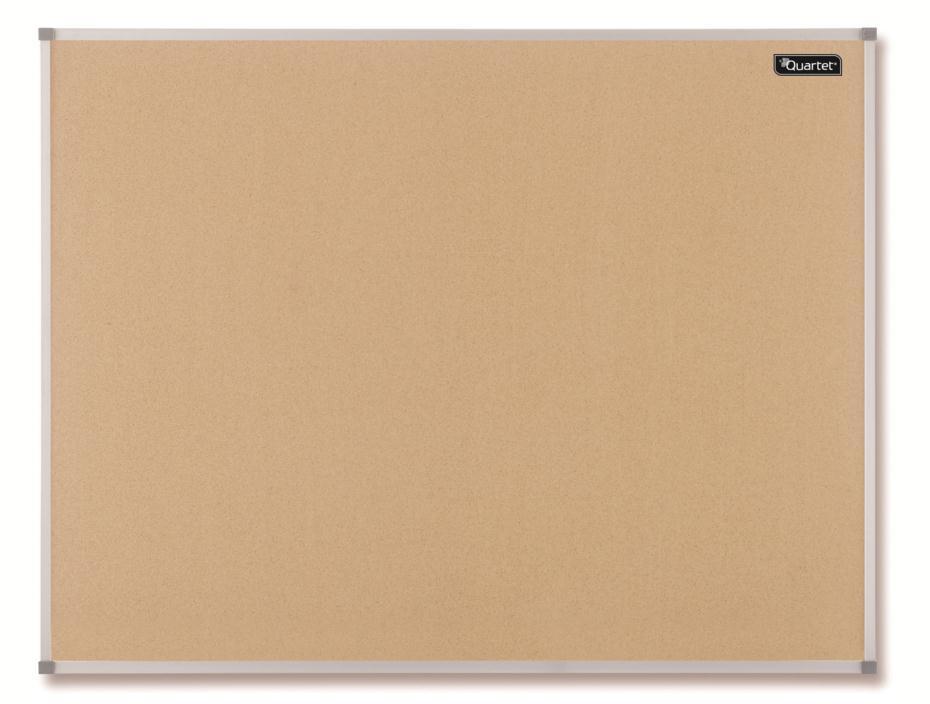 Quartet Cork Board Aluminium Frame 900x600mm Ref 1904063