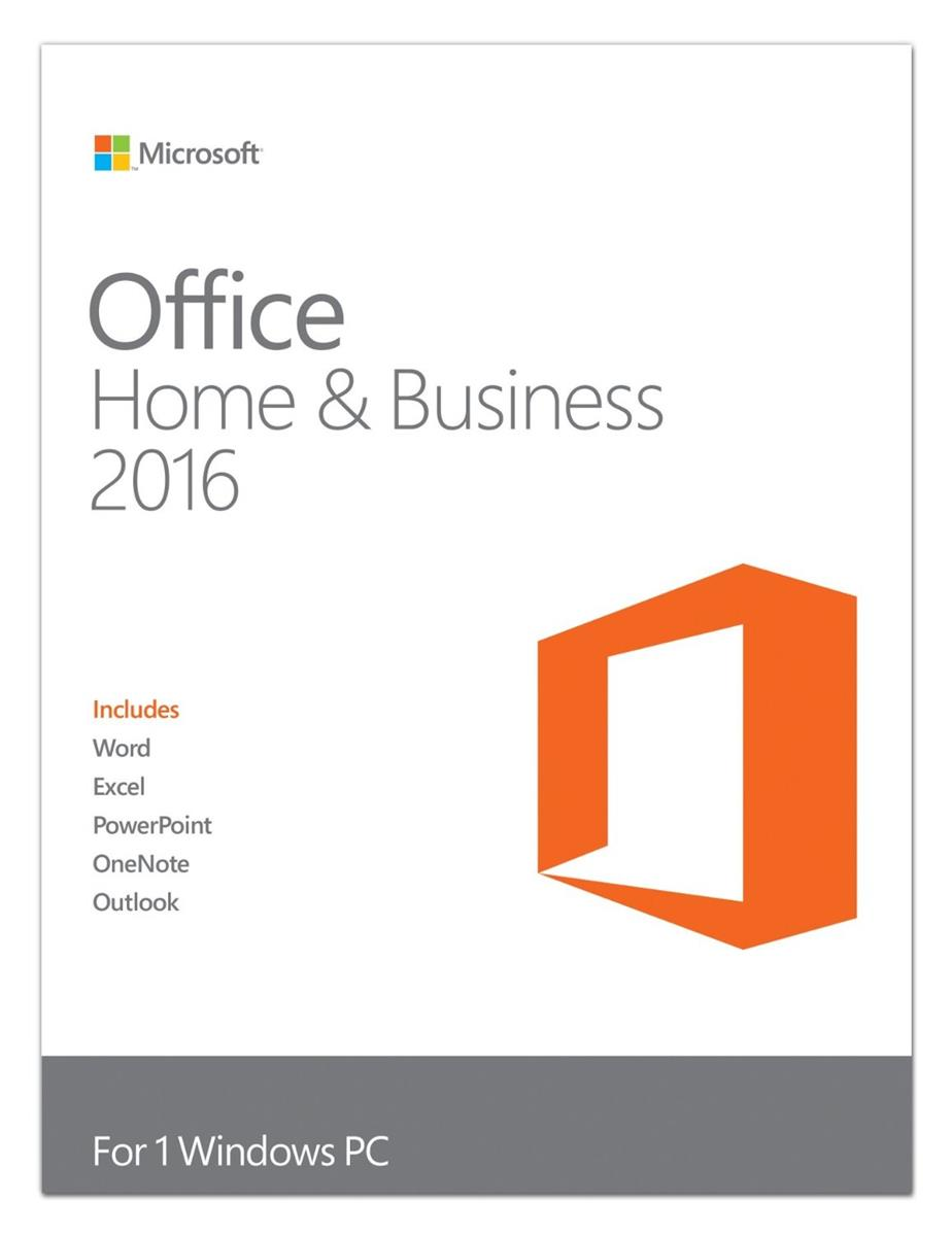 Microsoft Office Home and Business 2016 Licence 1 PC 32 or 64-bit ...