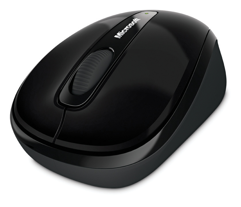 Microsoft 3500 Mobile Mouse Wireless Black Ref GMF-00042