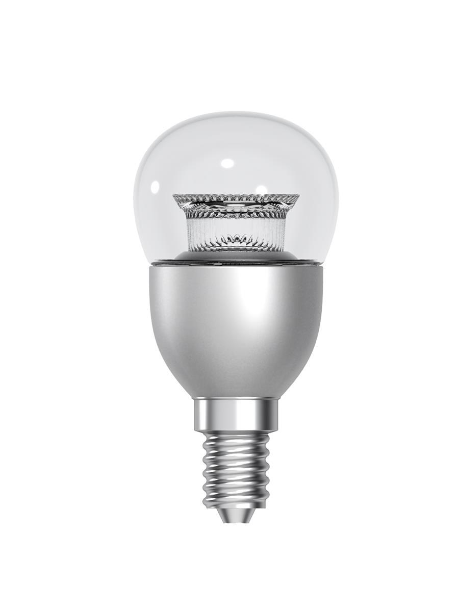 GE Bulb LED Globe 6W 40W Equivalent SES Clear Ref 9303263