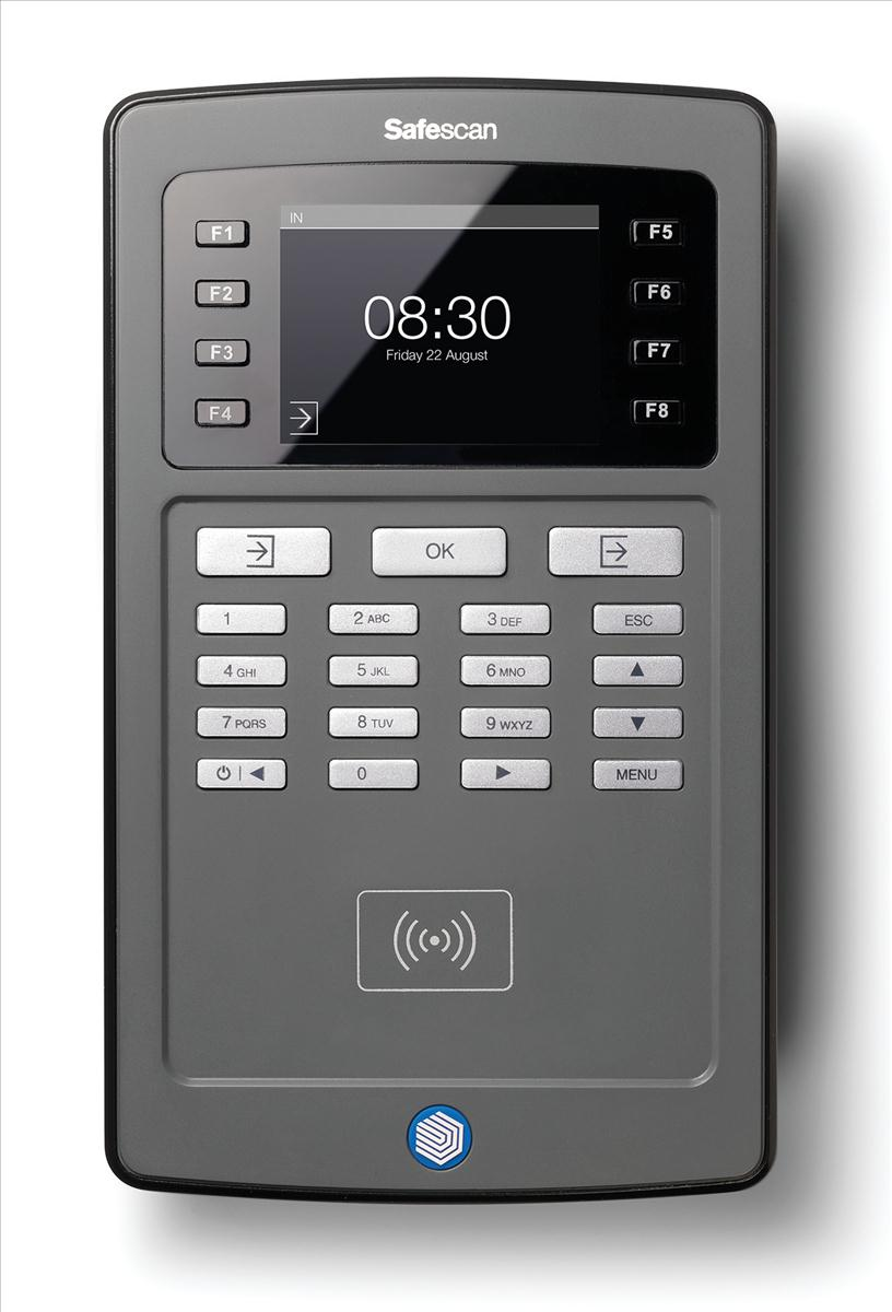 Image for Safescan TA-8010 Clocking In System with RFID and PCAs Ref 125-0482