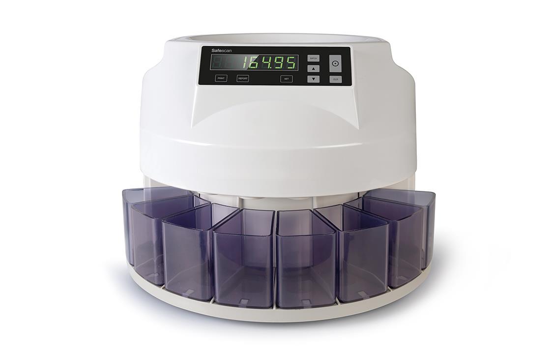 Safescan 1250 EUR Coin Counter and Sorter for Euro Ref 113-0549