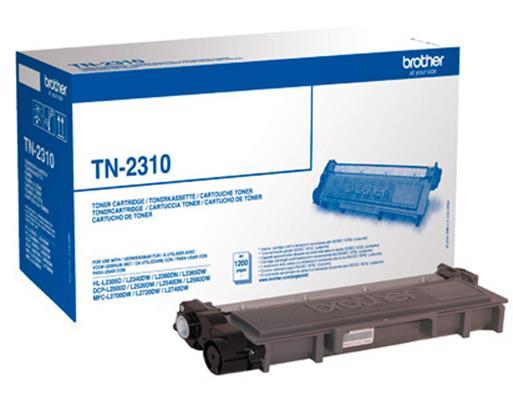 Brother Laser Toner Cartridge Page Life 1200pp Black Ref TN2310