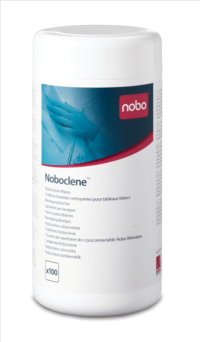 Noboclene Cleaning Wipes Tub Ref 1901438 [Tub 100]