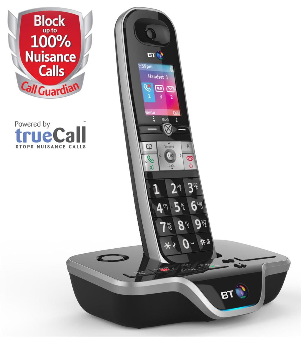 Image for BT 8600 DECT Single Telephone Answer Machine Cordless SMS 200-Entry Directory 30 Redials Ref 54631