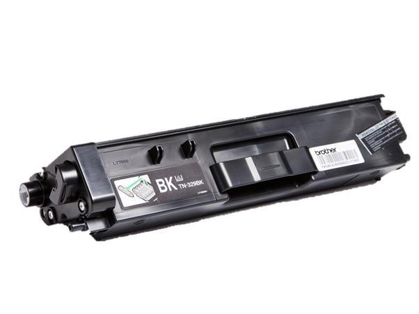 Brother Laser Toner Cartridge Super High Yield Page Life 6000pp Black Ref TN329BK