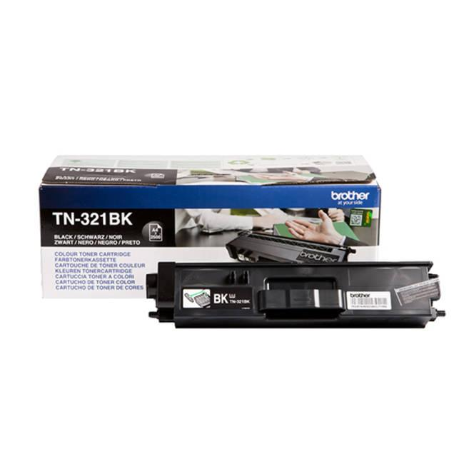 Brother Laser Toner Cartridge Page Life 2500pp Black Ref TN321BK