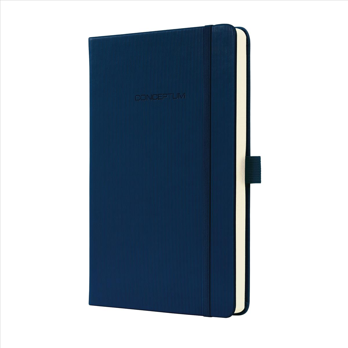 Sigel Conceptum Notebook Hard Cover 80gsm Ruled 194pp A5 Blue Ref C0577