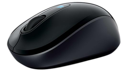 Microsoft Sculpt Mobile Mouse Wireless Black Ref 43U-00003