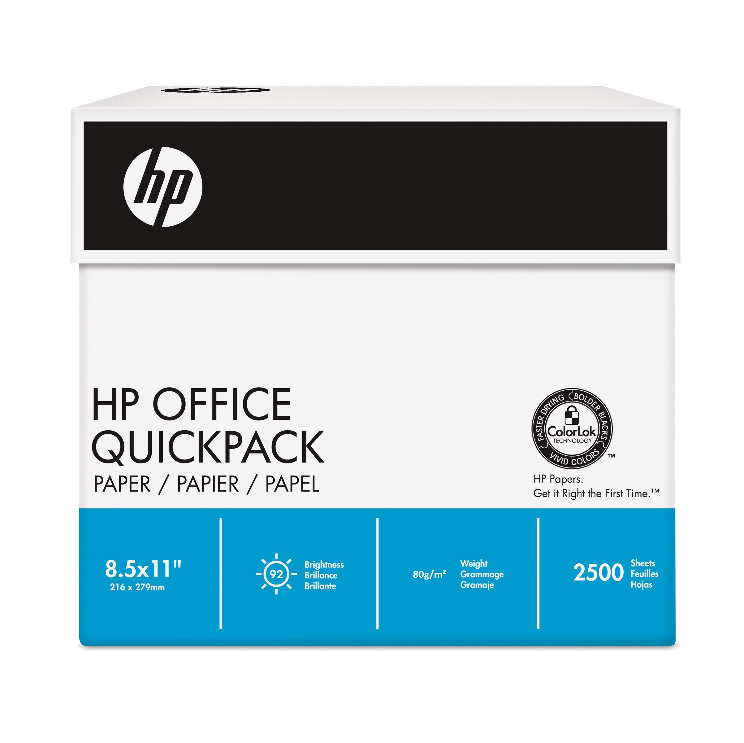 Hewlett Packard [HP] Office Paper Multifunction No Wrap 80gsm A4 White Ref HPF0317QPCL [2500 Sheets]