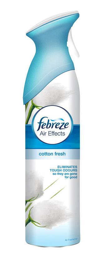 Febreze Air Freshener Spray Cotton Fresh 300ml Ref 1008222