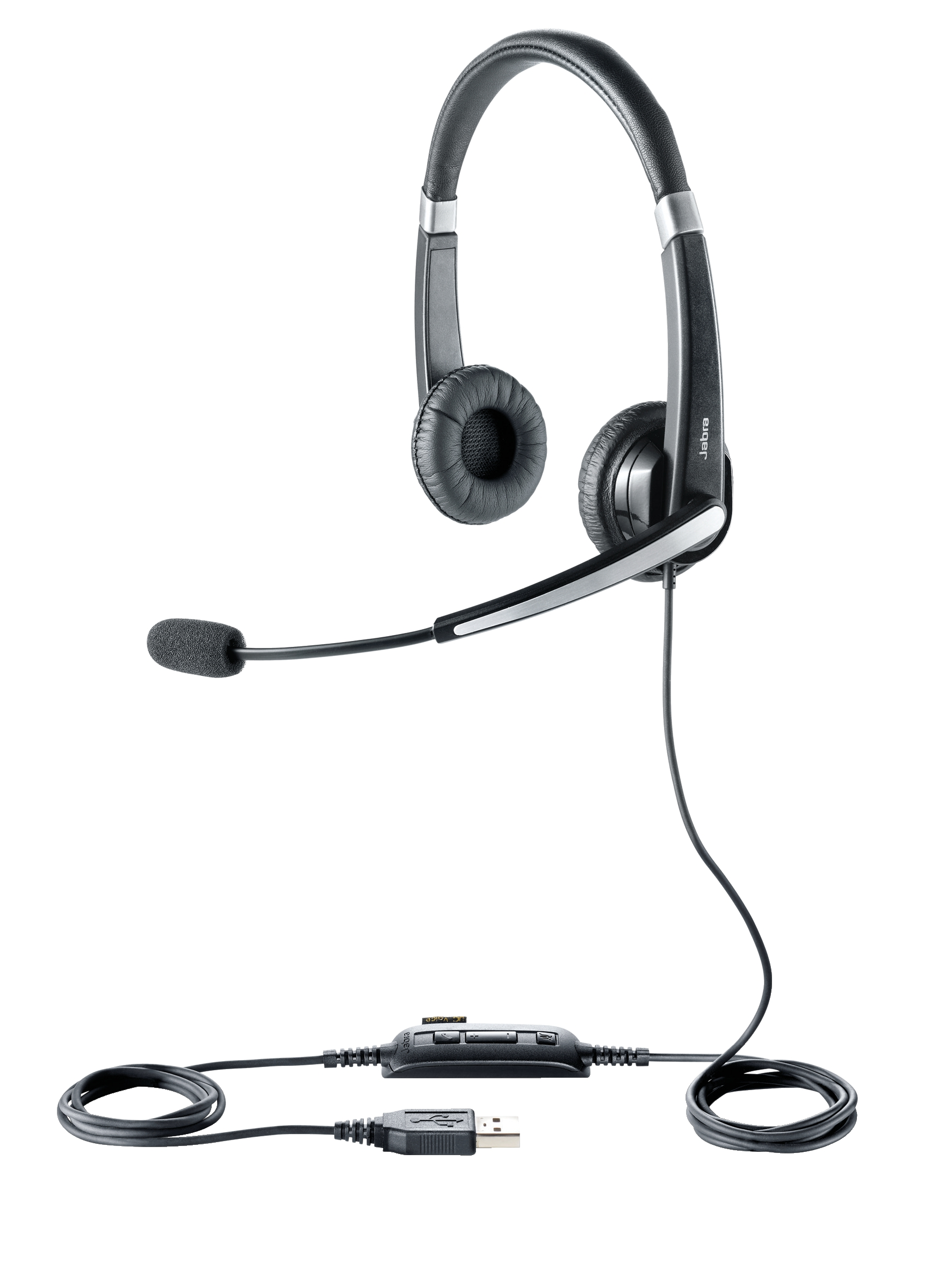 Jabra Voice 550 USB NC Duo Padded Headset Ref 45123