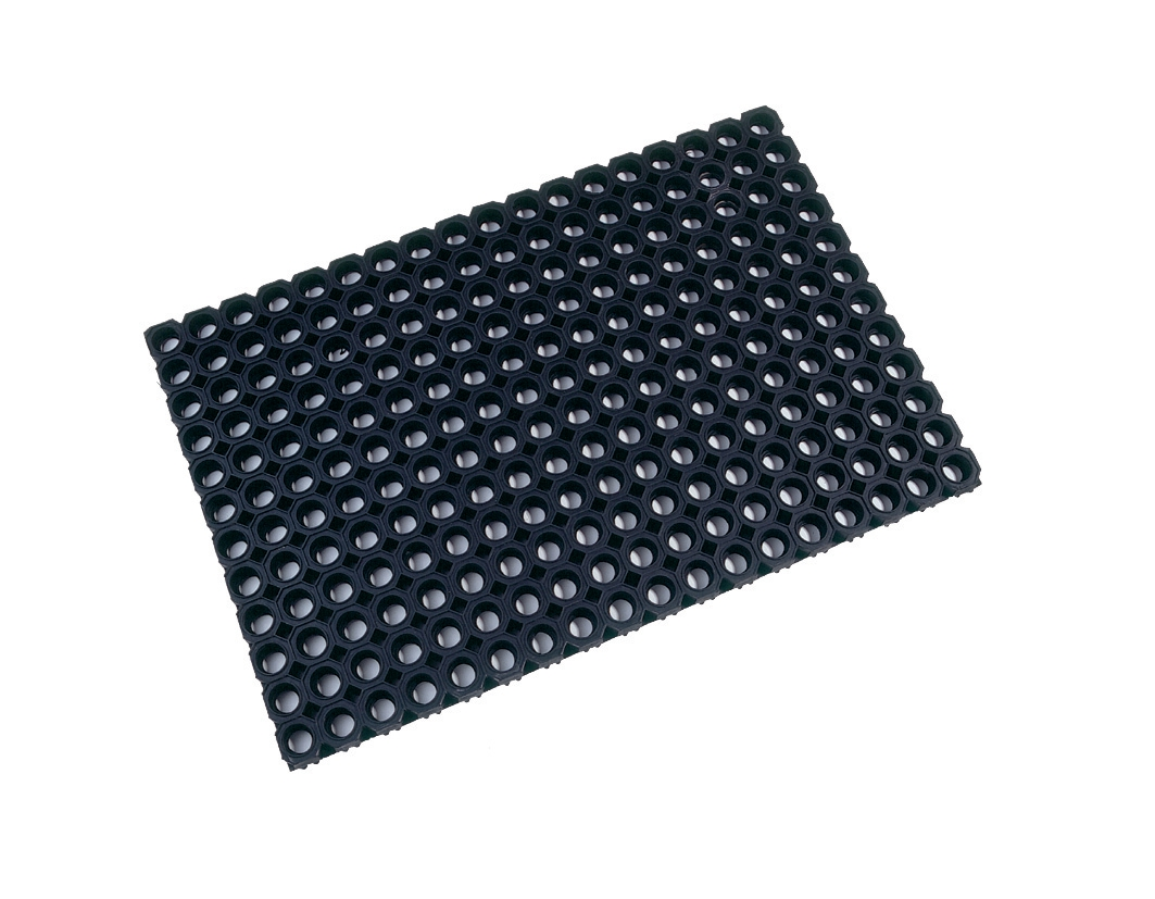 Image for Doortex Octomat Rubber Black 1000x1500mm Ref FC4101522OCBK