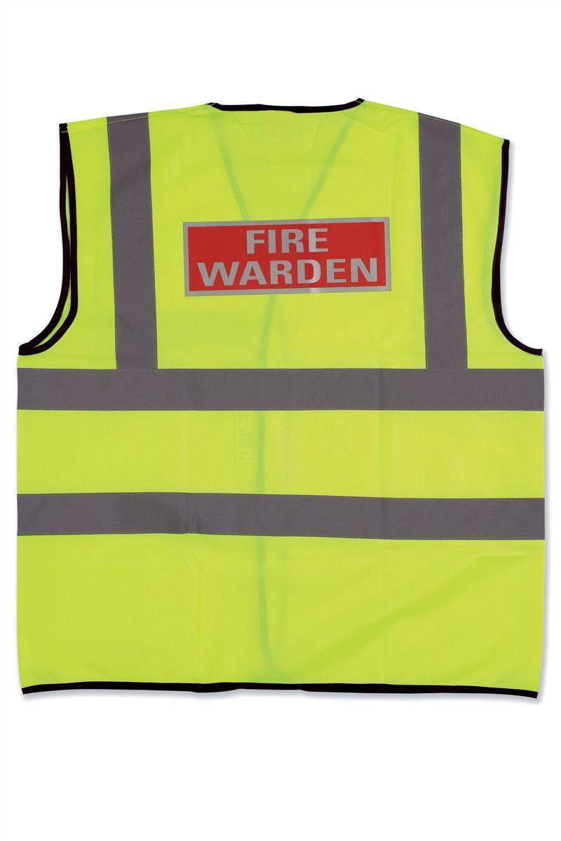 IVG Fire Warden Vest Large Ref IVGSFVWL