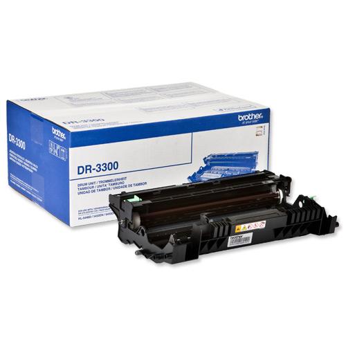 Brother Laser Toner Drum Unit Page Life 30000pp Ref DR3300