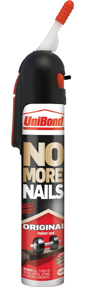 UniBond No More Nails Interior Ready To Use 200ml White Ref 1522438