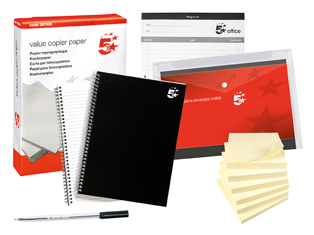 Home Working Stationery Bundle 1