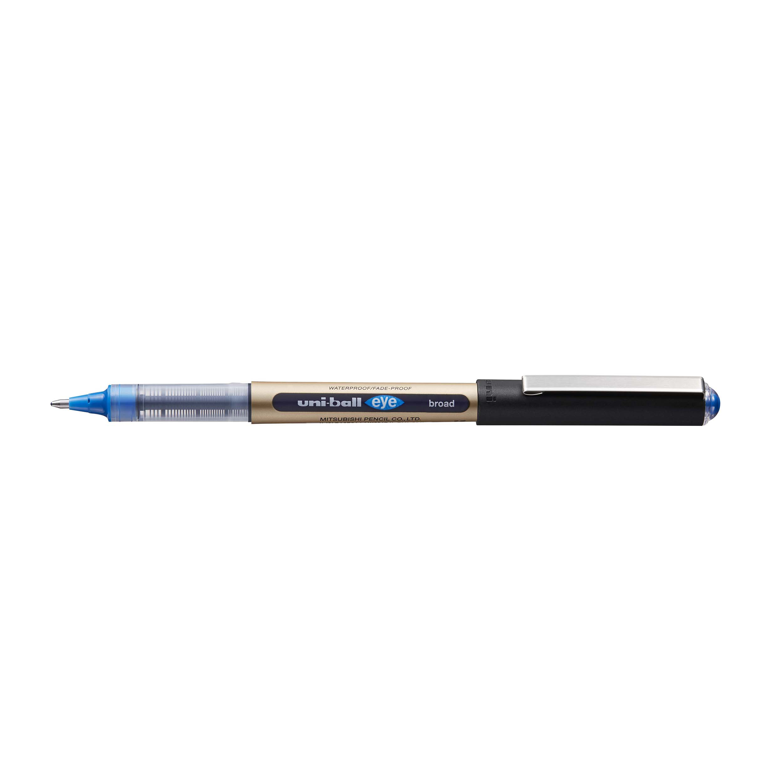 Uni-ball UB-150-10 Eye Broad Rollerball Pen 1.0mm Tip Blue Ref 246967000 [Pack 12]