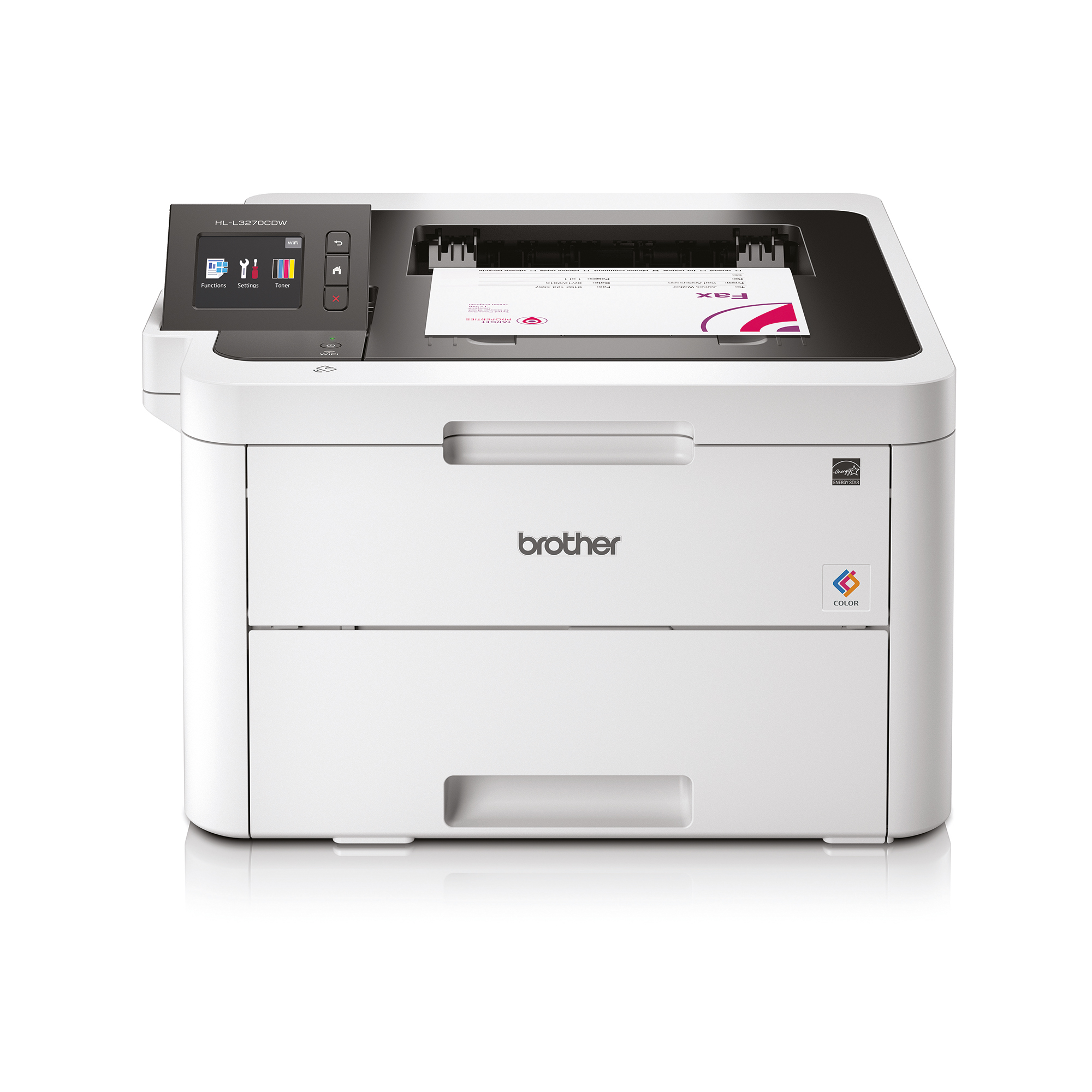 Laser printers Brother HL-L3270CDW Colour Laser A4 Printer with Wi-Fi Network Ref HLL3270CDW