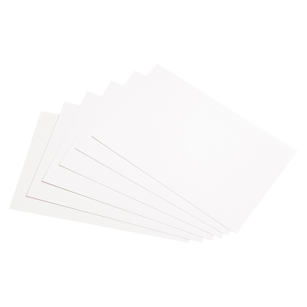 Image for Business Record Cards Blank 8x5in 203x127mm White [Pack 100]