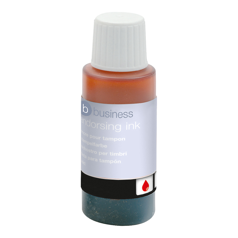 Image for Business Endorsing Ink 28ml Red