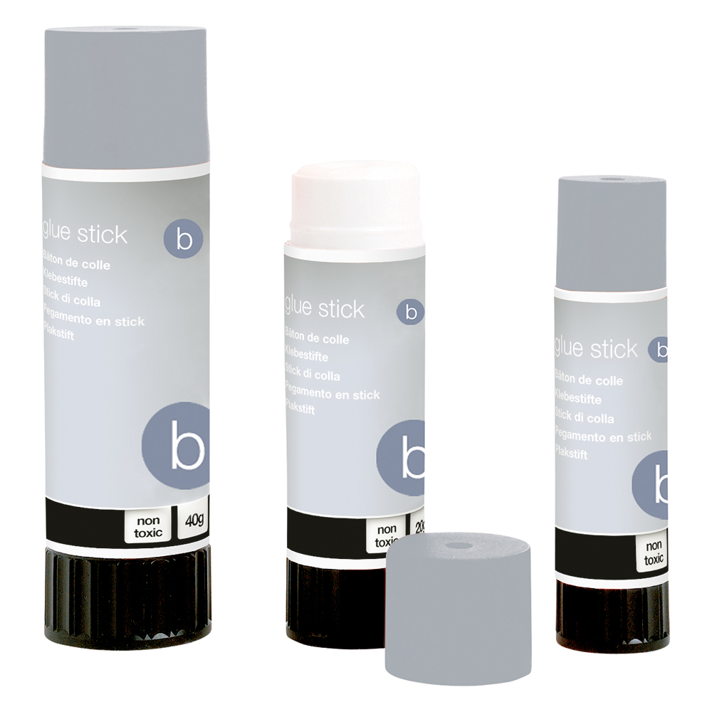 Image for Business Glue Stick Solid Washable Non-toxic Small 10g [Pack 6]