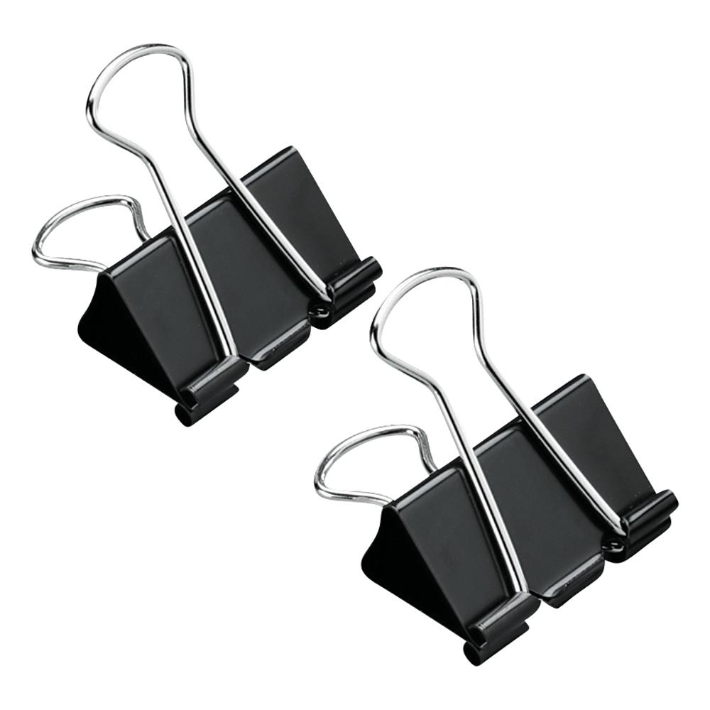 Business Foldback Clips 32mm Black [Pack 12]