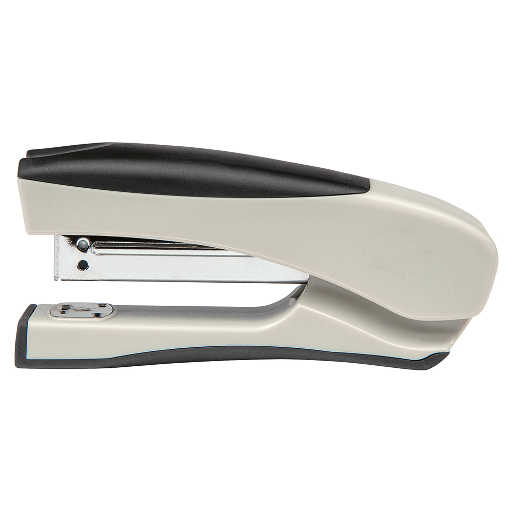 Image for Business Half Strip Stand Up Stapler 20 Sheet Capacity Takes 26/6 and 24/6 Staples Silver/Black