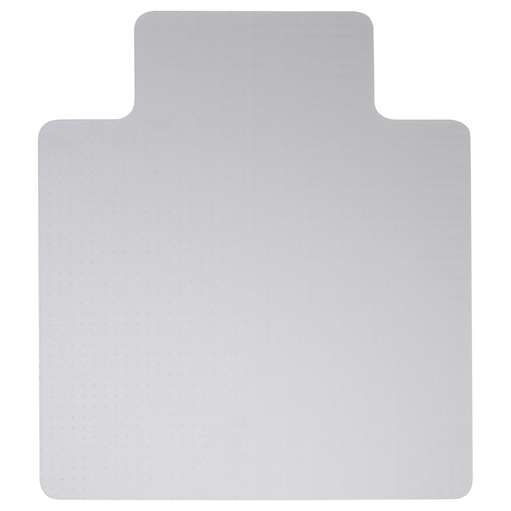 Business Chair Mat Hard Floor Protection PVC W900xD1200mm Clear/Transparent