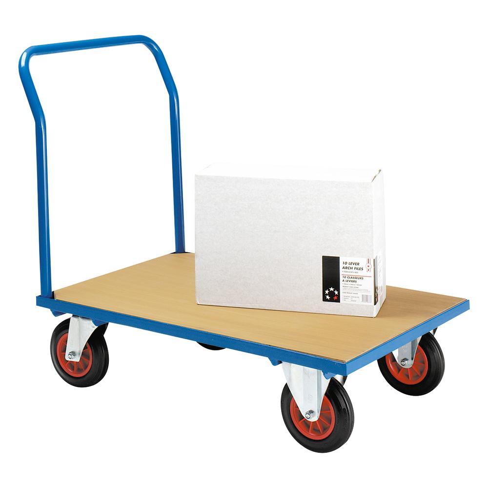 Image for Business Platform Truck Blue