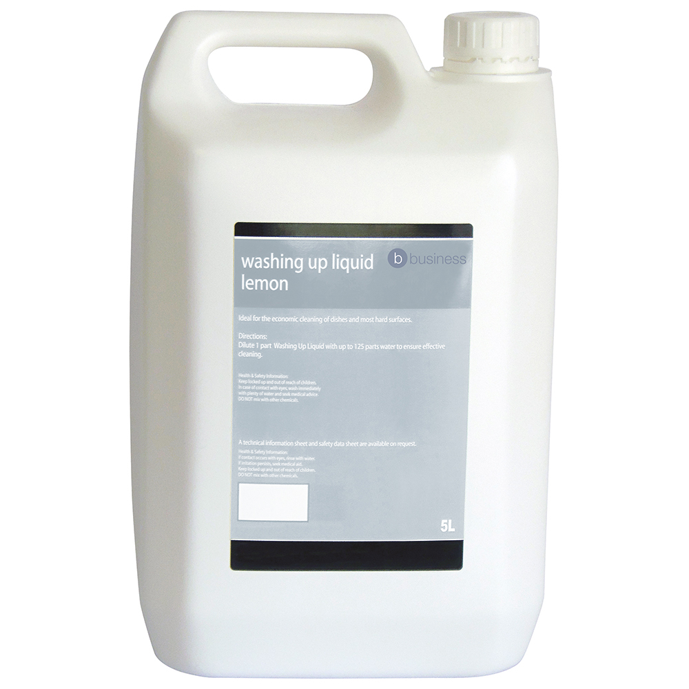 Business Lemon Washing-up Liquid 5 Litres