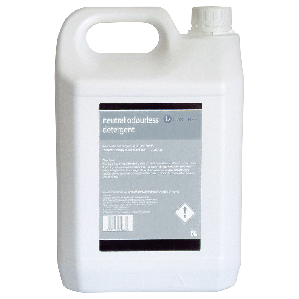 Business Unscented Washing-up Liquid 5 Litres