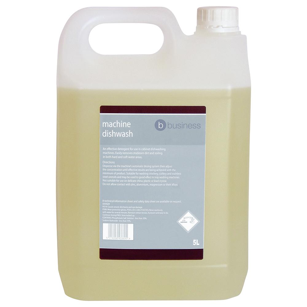 Business Machine Dishwash Liquid Detergent 5 Litres