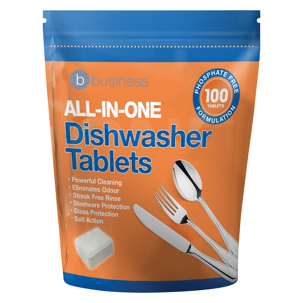 Business All-in-one Dishwasher Tablets [Pack 100]