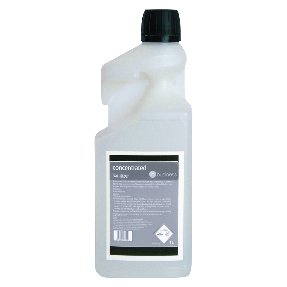 Business Concentrated Catering Sanitiser 1 Litre