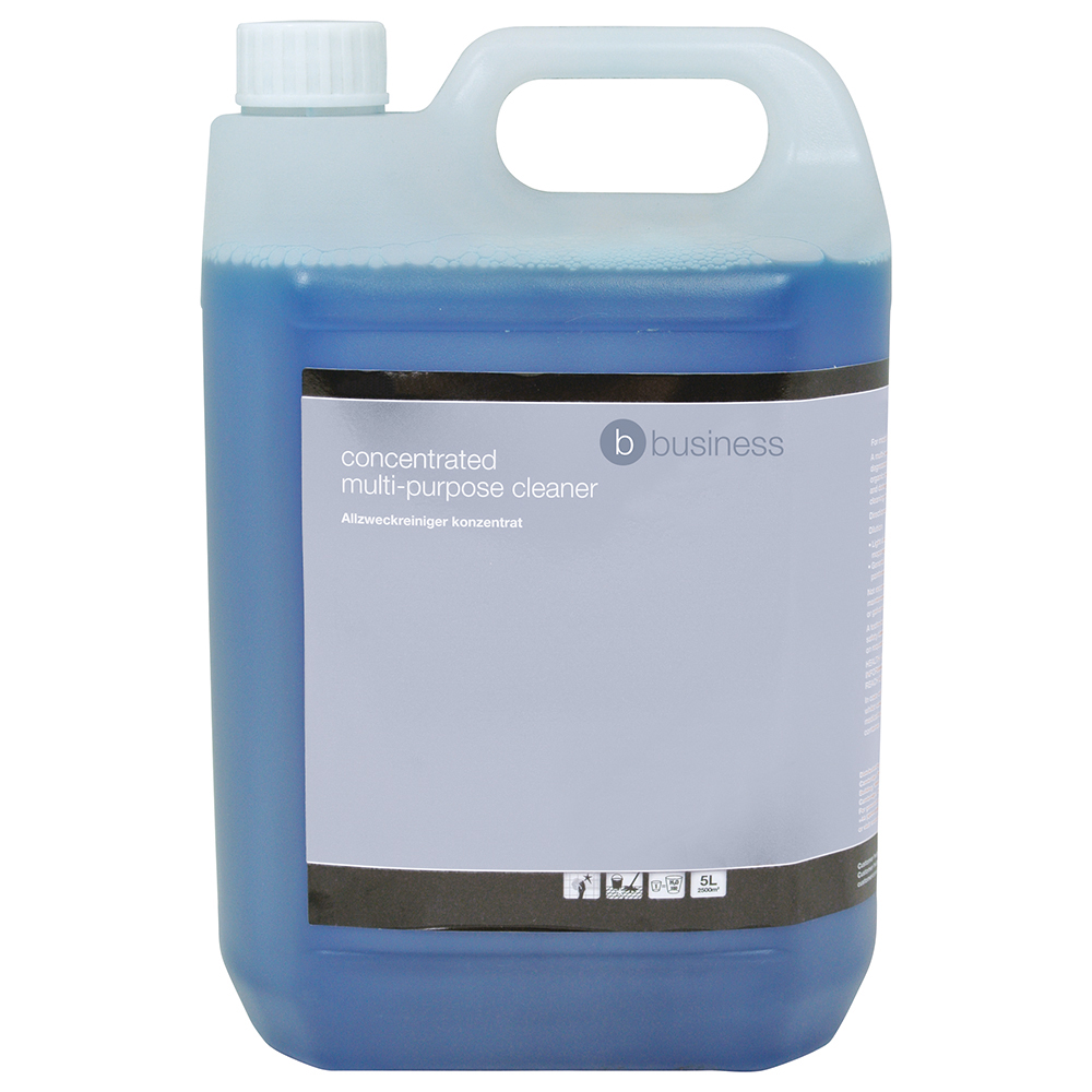 Business Concentrated Multipurpose Cleaner Lemon 5 Litre