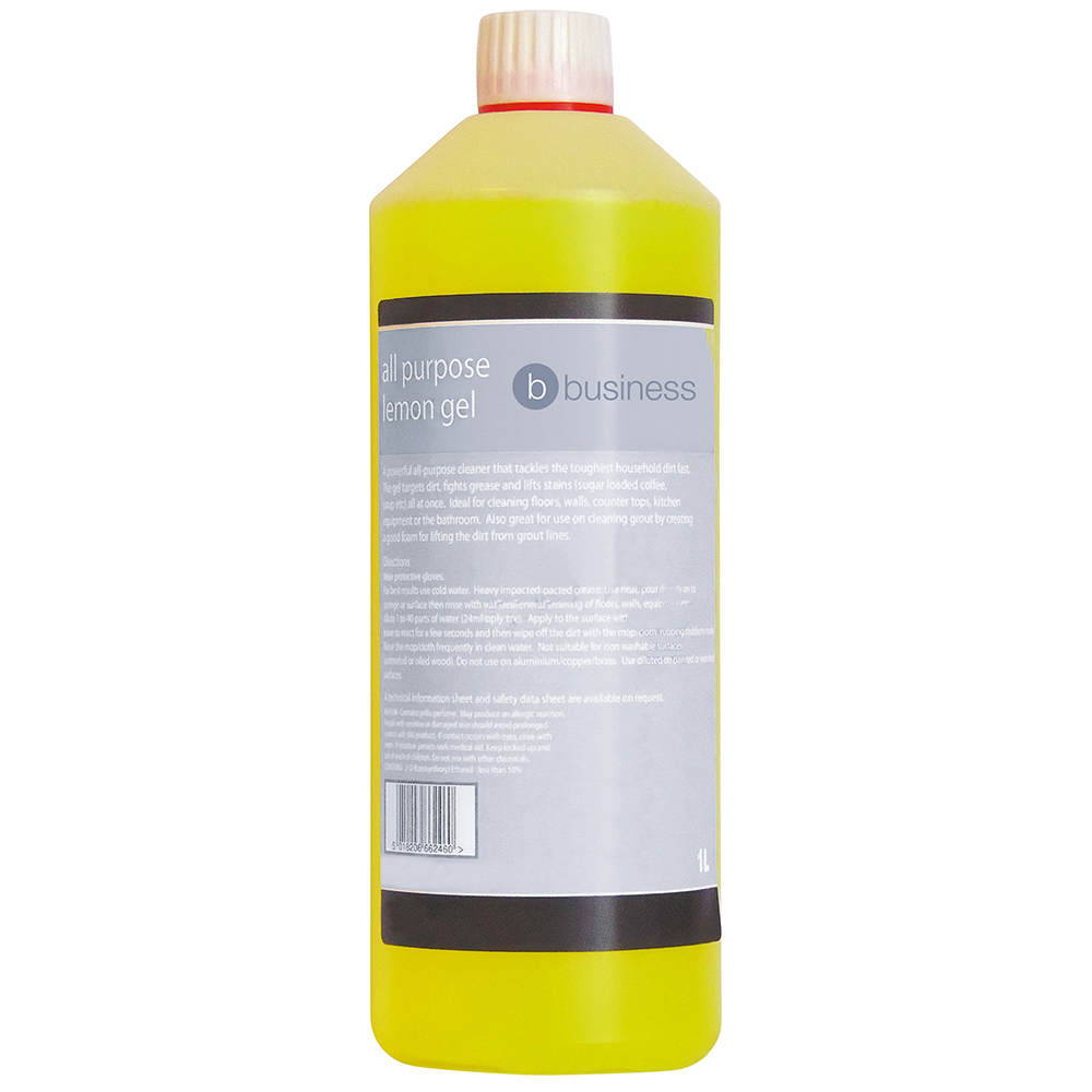 Business All Purpose Lemon Gel 1 Litre