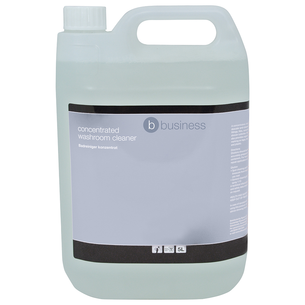 Business Concentrated Washroom Cleaner 5 Litre