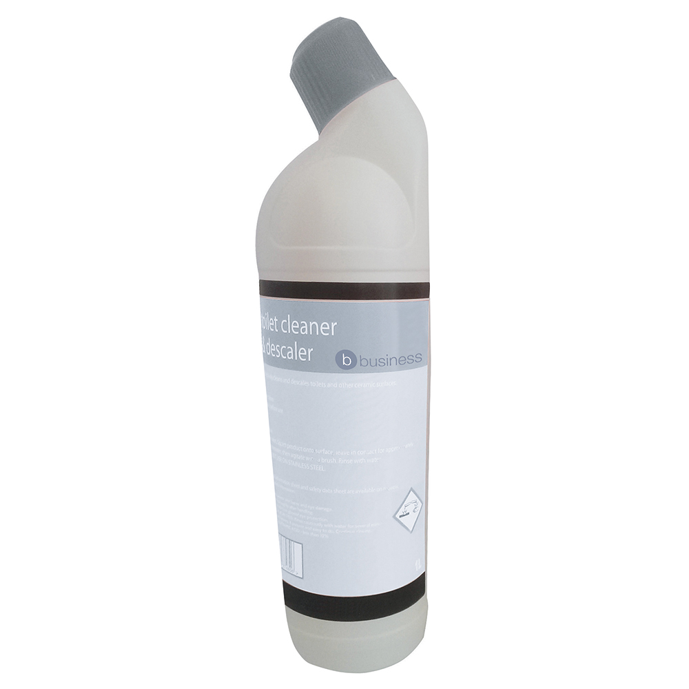 Business Toilet Cleaner and Descaler 1 Litre
