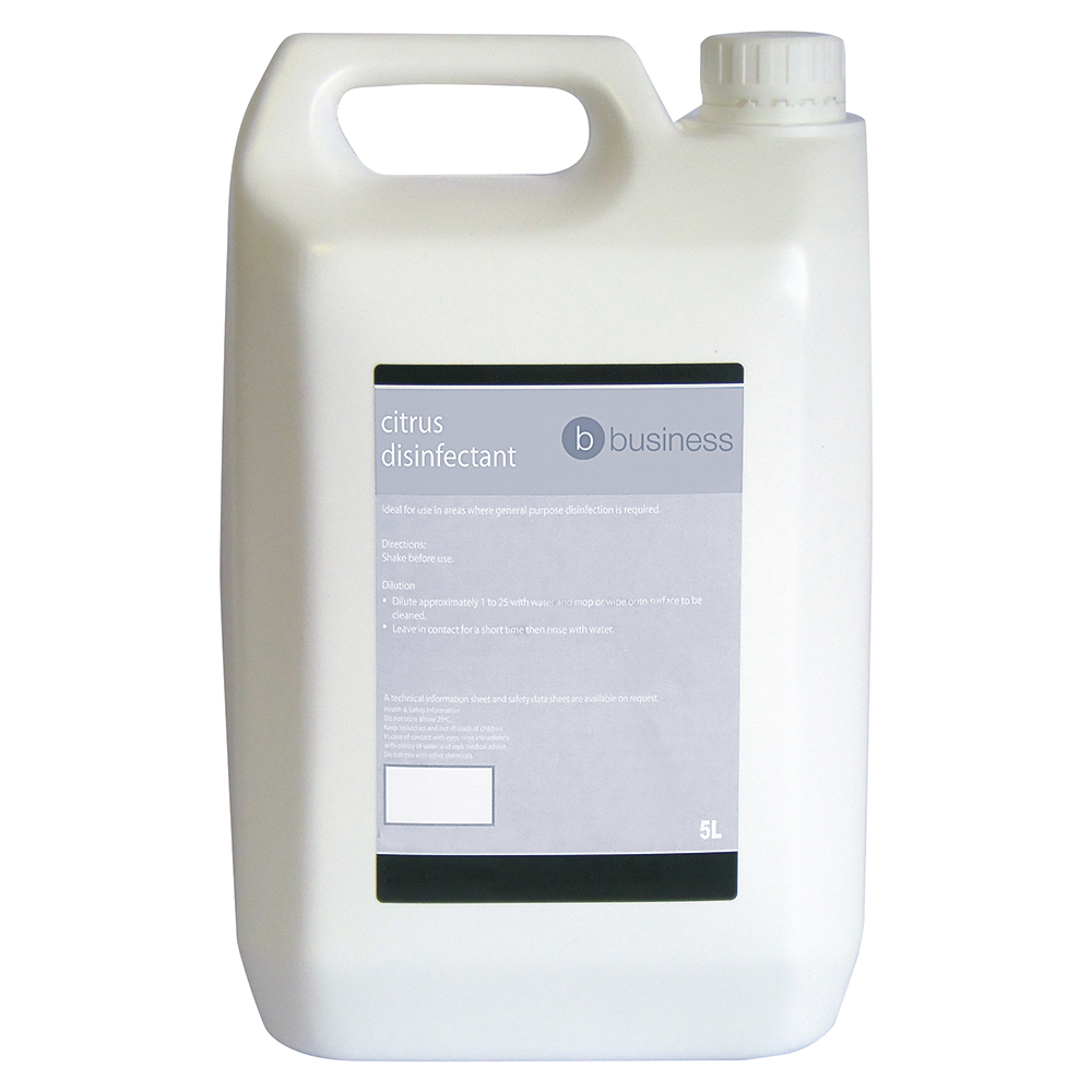 Business Concentrated Citrus Disinfectant 5 Litre