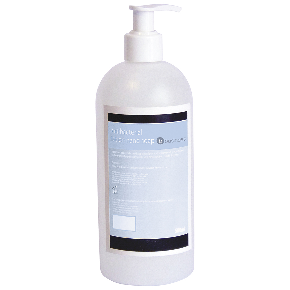 Business Antibacterial Lotion Hand Soap 500ml
