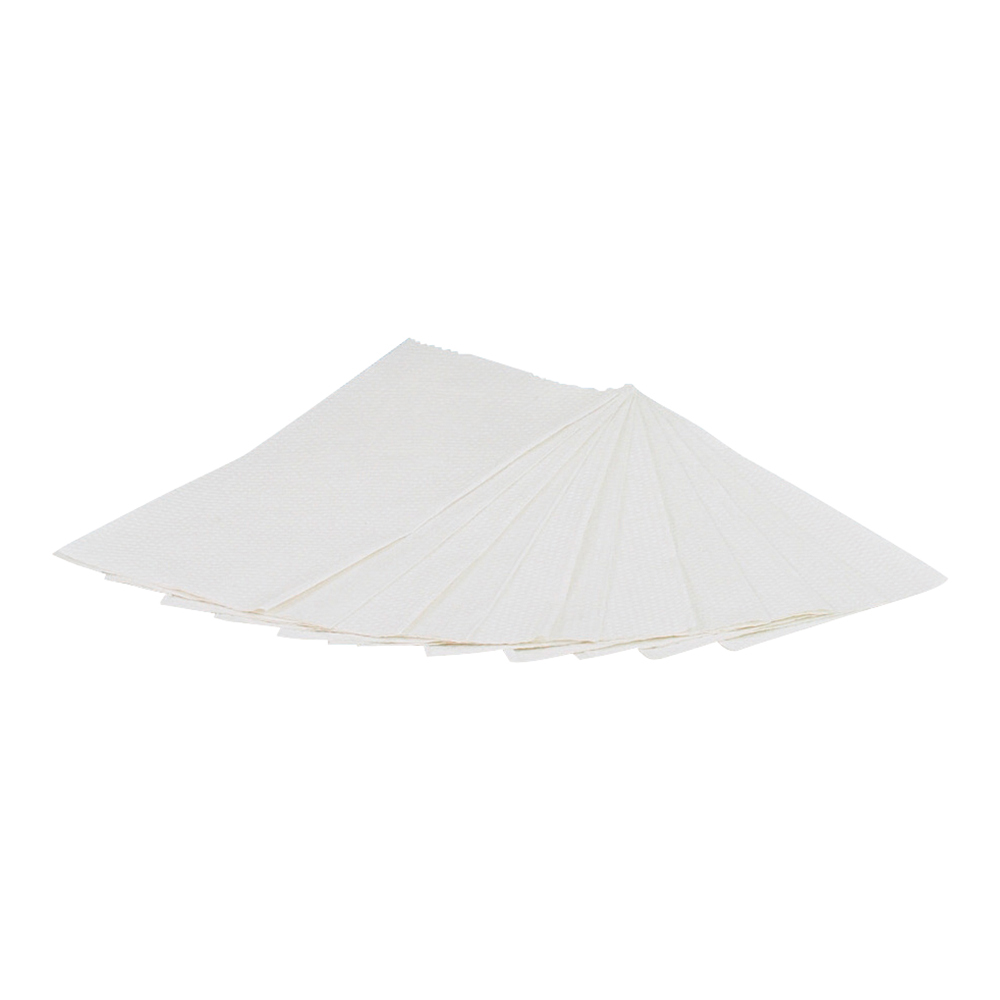 Business Hand Towel Z-Fold Two-ply Sheet Size 230x240mm 200 Towels Per Sleeve White [Pack 15]
